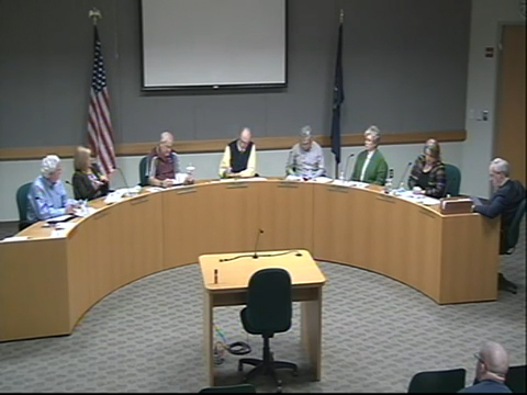 Board of Trustees Meeting March 12, 2015