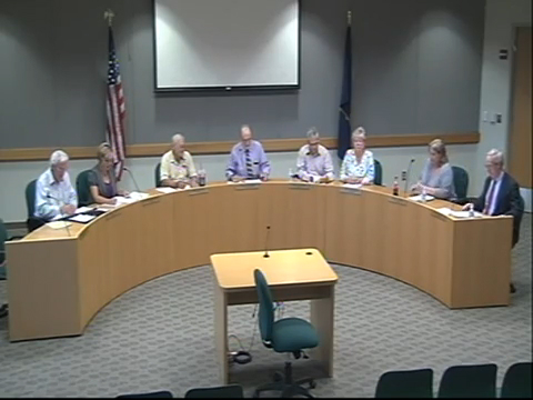 Board of Trustees Meeting September 10, 2015 Part I